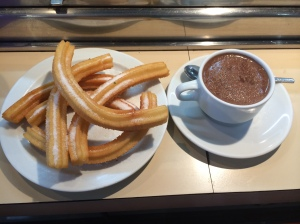 Churros and Life Changing Drinking/Dipping Chocolate