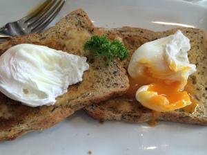 Brings a tear to my eye...local eggs, homemade brown bread