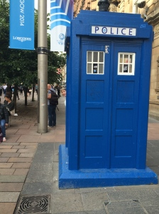 Scottish Phone Booth - I mean Dr. Who