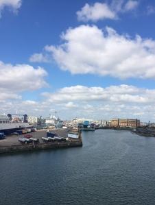 Entering the Port of Dublin