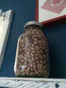 Beans as art.